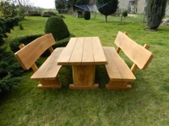 Rustikale Gartenmöbel rustikale gartenmöbel aus massivholz