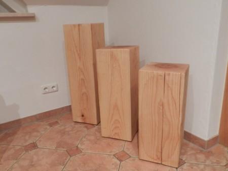 Massivholzstehlen Aus Esche Rustikale Mobel